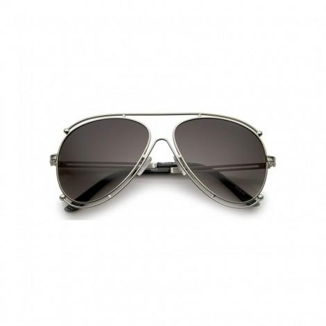 Sluneční brýle Zaqara Irene stříbrné