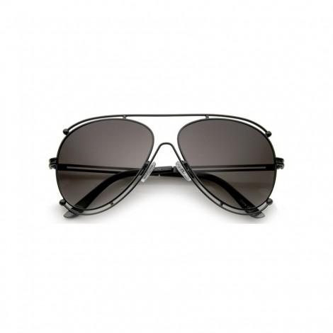 Sluneční brýle Zaqara Irene černé