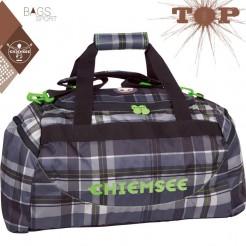 Cestovní taška Matchbag medium Plaid Black