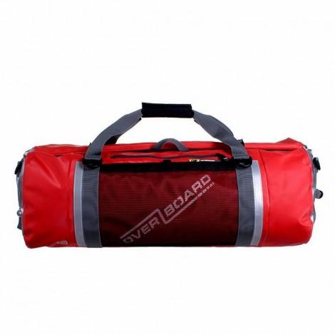 Vodotěsná taška OverBoard Pro-Sports Duffel 60 l červená