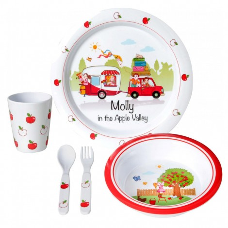 Jídelní sada pro děti Brunner Molly Girl 3+