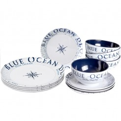 Melaminové nádobí Brunner Blue Ocean - Midday