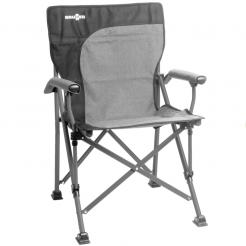 Skládací kempingová židle Brunner Raptor Demtex šedá