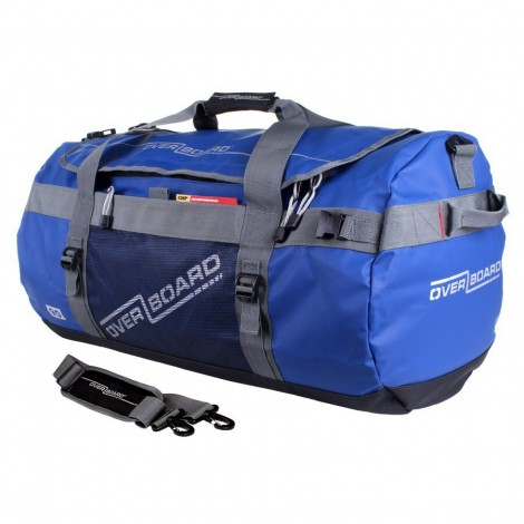 Vodotěsná taška OverBoard Adventure Duffel 90 l modrá
