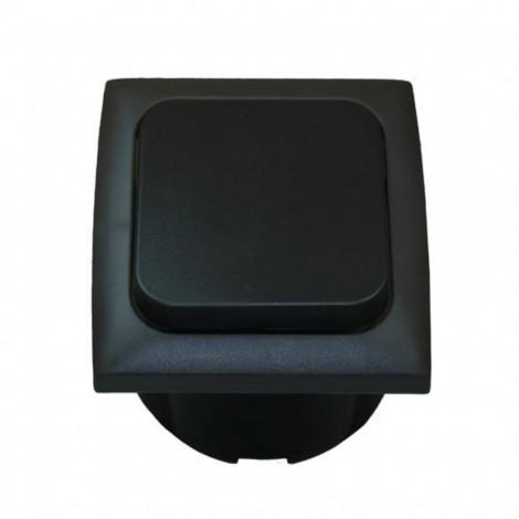 Vnitřní vypínač Haba 230V černý