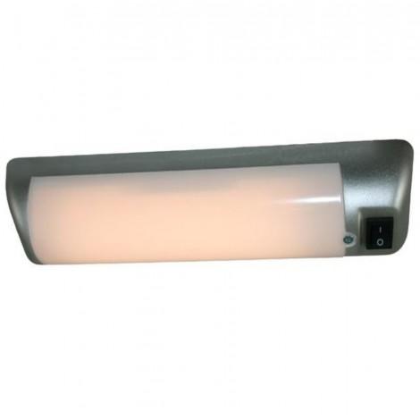 LED světlo Haba stříbrné