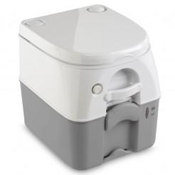 Přenosná toaleta šedá 976
