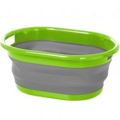 Víceúčelový skládací kbelík Brunner Lotus zelený