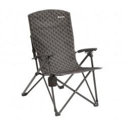 Skládací kempingová židle Outwell Harber Hills černá
