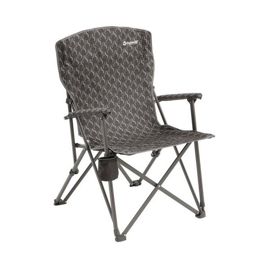 87698269dadd Skládací kempingová židle Outwell Spring Hills černá