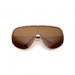 Sluneční brýle Zaqara Amy hnědé