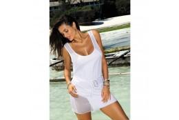 Plážové šaty Marko Model Alice bílé
