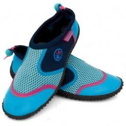 Dámské boty do vody Aqua Speed modrorůžové