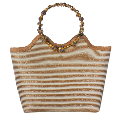 Plážová taška Cappelli Straworld Lurex