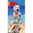 Plážová osuška Copa Dog on Duty