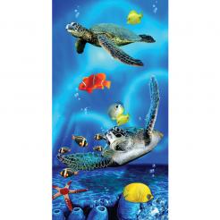 Plážová osuška Copa Twin Turtles