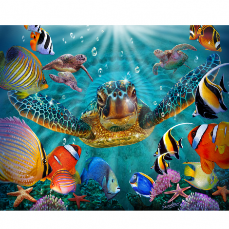 Plážová osuška Copa Turtle Life