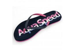 Dámské žabky Aqua Speed Moluki růžové