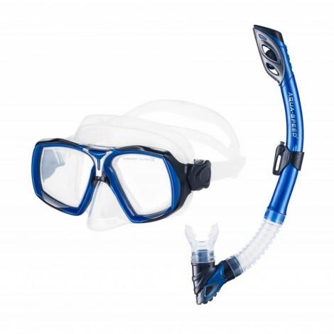 Potápěčský set Aqua Speed Elea Rio modrý