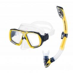 Potápěčský set Aqua Speed Elea Rio žlutý