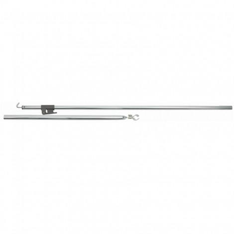 Stanová tyč Brunner Smartpole - háček alu 28 mm