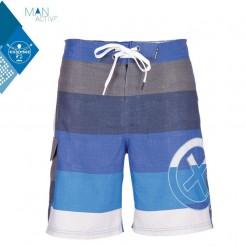 Pánské koupací šortky Ingolf Block Blue