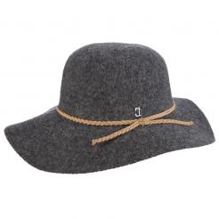 Dámský klobouk Callanan Round Crown šedý