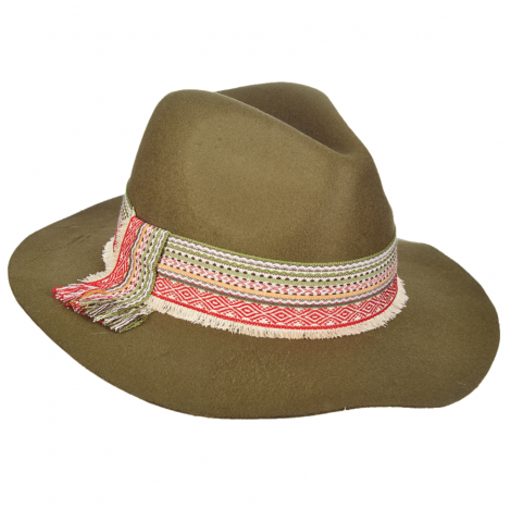 Dámský klobouk Scala Safari W/Woven