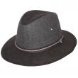 Pánský klobouk Dorfman Pacific Suede Safari
