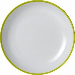 Mělký talíř Brunner Loop zelený
