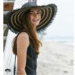 Dámský klobouk Cappelli Straworld Fringe
