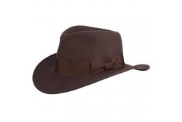 Pánský klobouk Indiana Jones Crushable Wool Felt