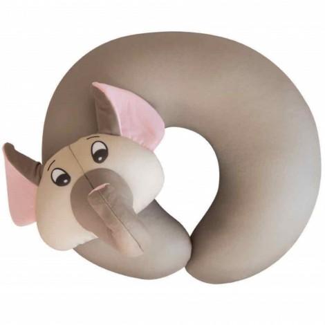 Dětský cestovní polštář na krk Travel Blue Fun Pillow Slon