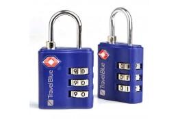 Cestovní zámek Travel Blue TSA Lock (2ks) modrý