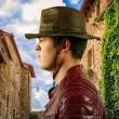 Pánský klobouk DPC Distressed Outback