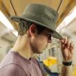 Pánský klobouk DPC Wool Blend Safari