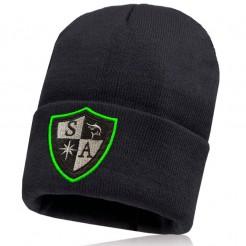 Pánská čepice SA Shield Outline zelená