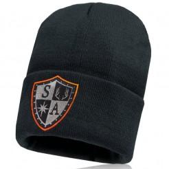 Pánská čepice SA Shield Outline oranžová
