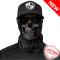 Multifunkční šátek SA Blackout Forest Camo Skull