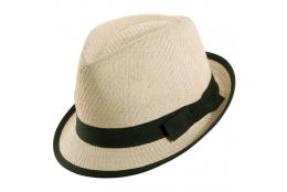 Dámský klobouk Tropical Trends Fedora bílý