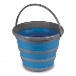 Víceúčelový skládací kbelík Kampa 10 l modrý