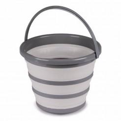 Víceúčelový skládací kbelík Kampa 10 l šedý