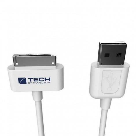 Nabíjecí a datový kabel Travel Blue - pro Apple 30 pin