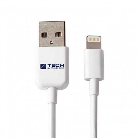 Nabíjecí a datový kabel Travel Blue - pro Apple Lightning