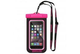 Vodotěsné pouzdro Seawag Smartphone černé/růžové