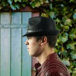 Pánský klobouk Dorfman Pacific Faux Fedora