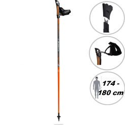 Nordic walking hole Guidetti VDF UT50 120 orange