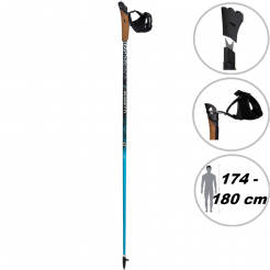 Nordic walking hole Guidetti VDF UT70 120 blue