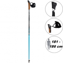 Nordic walking hole Guidetti VDF UT70 125 blue
