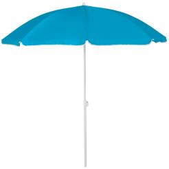 Plážový slunečník Copa Stripes světle modrý